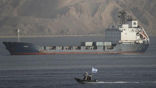 Israel halla 40 cohetes de corto alcance en un barco detenido en el Mar Rojo