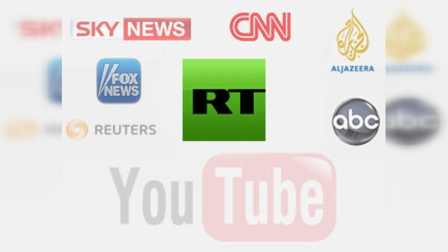 RT supera a los medios internacionales en la lista de videos más vistos en YouTube