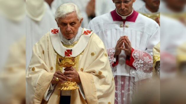 En vivo: El Papa Benedicto XVI oficia la Misa del Domingo de Resurrección