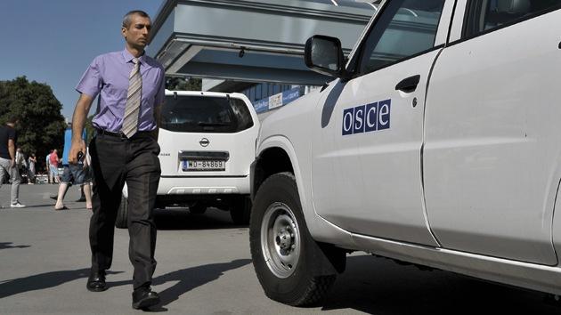 """OSCE: """"Ningún equipamiento bélico de Rusia ha atravesado la frontera con Ucrania"""""""