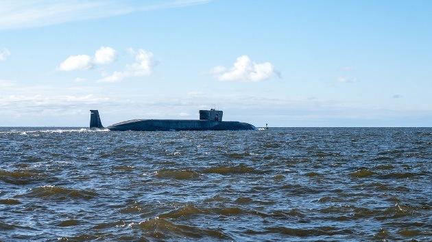El submarino ruso Vladímir Monomaj concluye con éxito su prueba de navegación