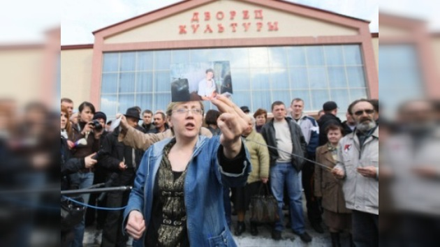 Banderas izadas a media asta en Kémerovo