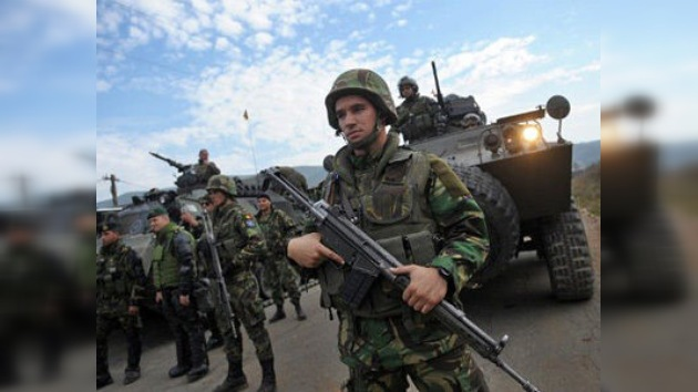 La OTAN agota la confianza de los serbios