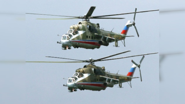 Rusia envía sus helicópteros militares al Chad