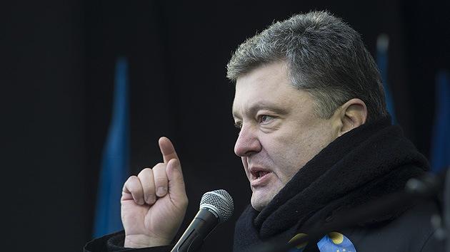 """Candidato presidencial de Ucrania: El este del país solo entiende """"el lenguaje de la fuerza"""""""