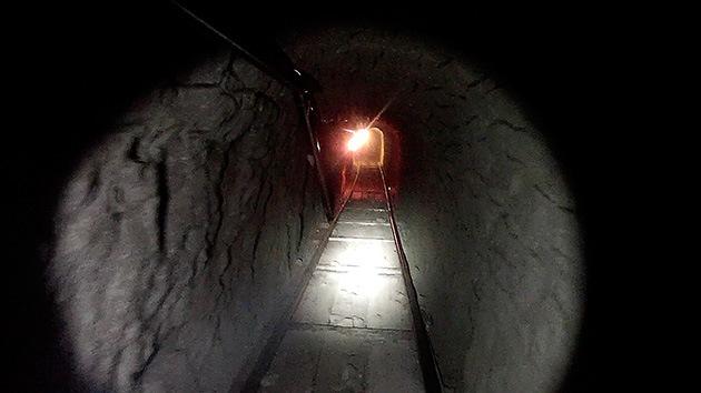 Descubren el túnel más largo excavado por el narco entre México y EE.UU.