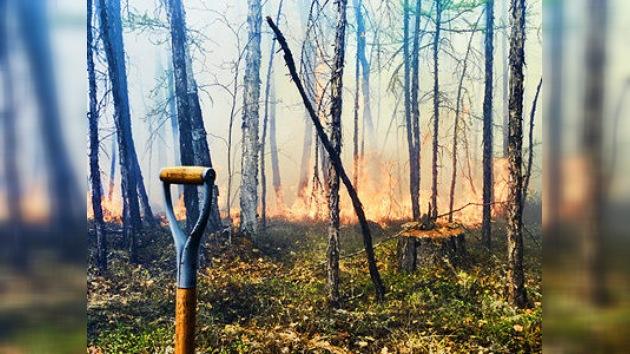 El Oriente Lejano de Rusia, en  llamas por  incendios forestales