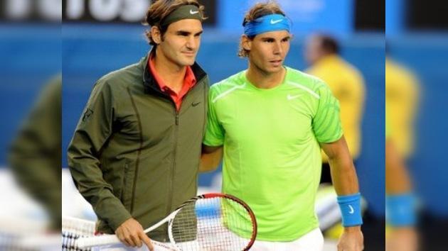 Nadal y Federer, dispuestos a establecer un nuevo récord Guinness