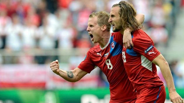 República Checa deja 'en coma' a Grecia en la Eurocopa
