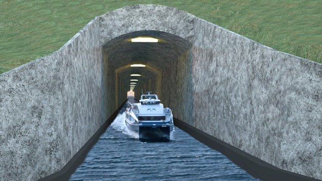 Noruega construirá el primer túnel en el mundo para buques de gran tamaño