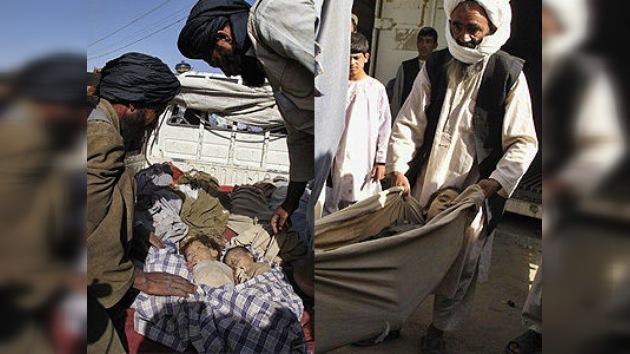 La OTAN mata a 12 niños y cuatro mujeres en un bombardeo contra los talibanes