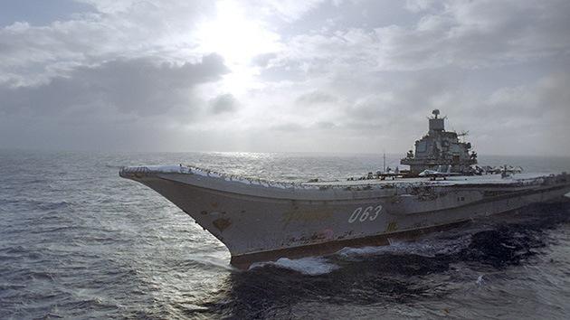 La agrupación naval rusa más potente se dirige al Mediterráneo y Atlántico nororiental