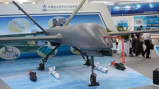 China alardea de su dron, que considera mejor que el Predator estadounidense