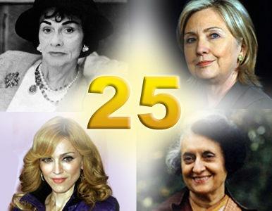 Las mujeres más poderosas del último siglo