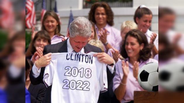 Bill Clinton presentará la candidatura de EE. UU. al Mundial de 2018 ó 2022
