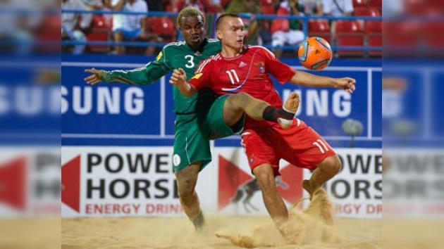 La selección rusa de fútbol playa conquista la Copa Intercontinental