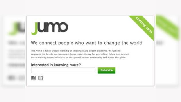"""Jumo, la nueva red social para """"cambiar el mundo"""""""