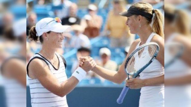 Choque entre Sharápova y Zvonariova en las semifinales de Cincinnati