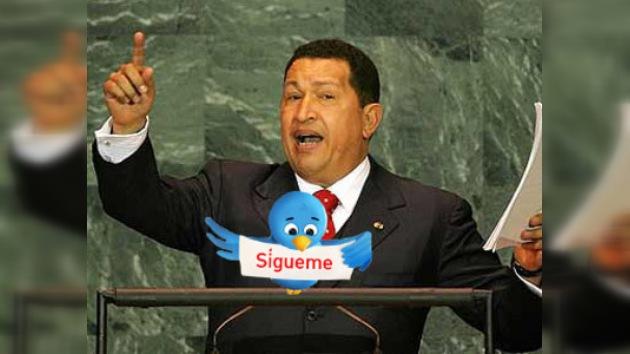 La cuenta de Hugo Chávez en Twitter, una de las más visitadas