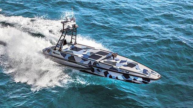Israel presenta un nuevo sistema no tripulado de combate marino