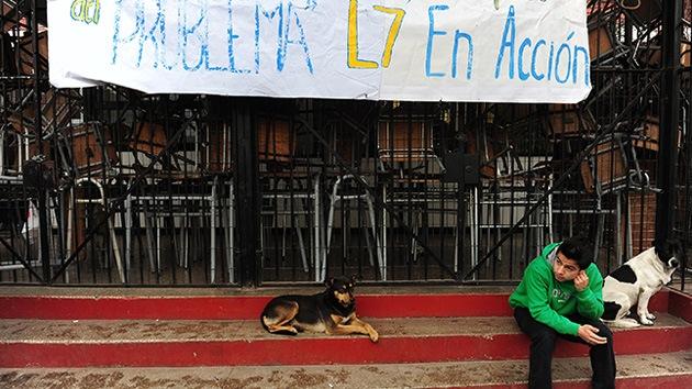 Chile: deciden desalojar las cuatro escuelas tomadas por los estudiantes