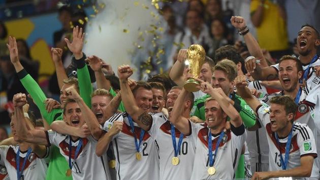 Alemania levanta su cuarta Copa del Mundo en el estadio de Maracaná
