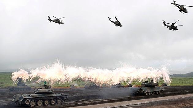 Japón planea aumentar su presupuesto militar para afrontar las tensiones con China