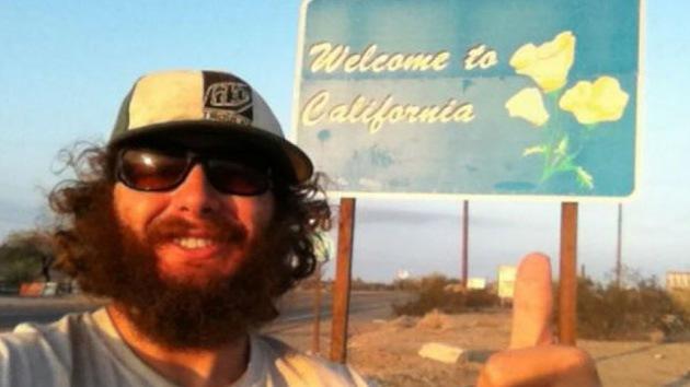 El nuevo 'Forrest Gump': Un joven cambia de vida y se convierte en vagabundo