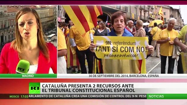 Cataluña presenta recursos al Tribunal Constitucional para que se anule la suspensión de la consulta