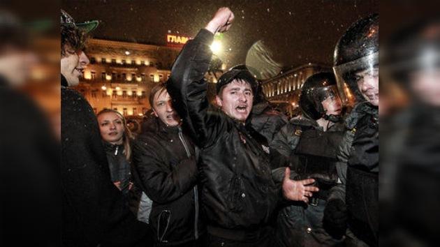 Segunda ola de disturbios en el centro de Moscú