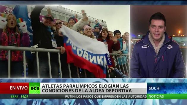 Rusia lidera en el medallero el segundo día de los Juegos Paralímpicos de Sochi