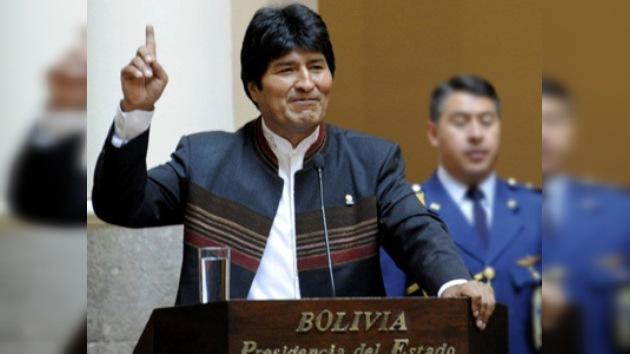 Evo Morales nombra tres nuevos ministros para su gabinete