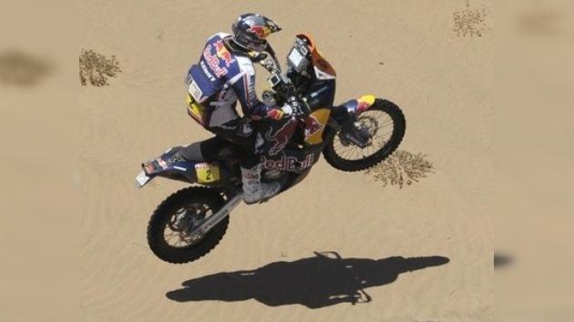 Dakar 2012: Despres es líder y Al-Attiyah se retira en la novena etapa