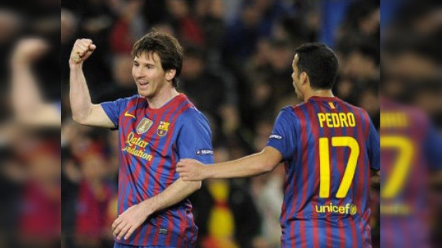 Festival del Barcelona en la Liga de Campeones con nuevo récord de Messi