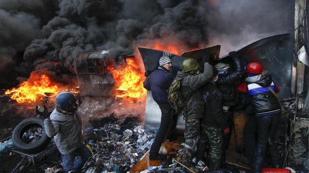 """Primer ministro de Ucrania: """"Lo que está pasando es un intento de golpe de Estado"""""""