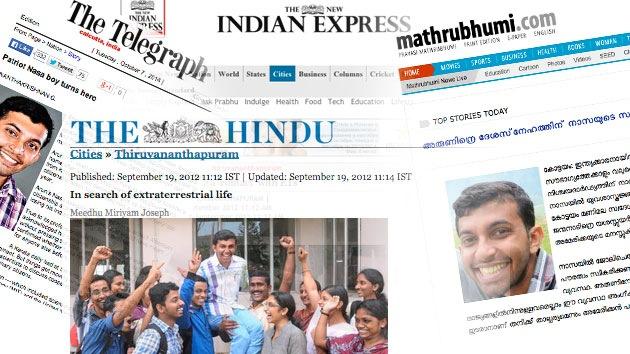 El increíble ascenso de un 'empleado de la NASA' indio que buscaba alienígenas