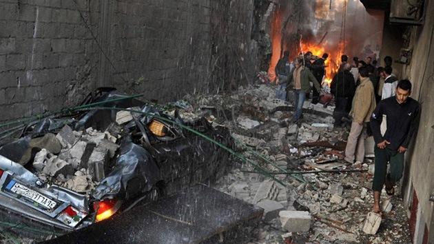 Video: Un atentado en Damasco deja al menos cinco muertos