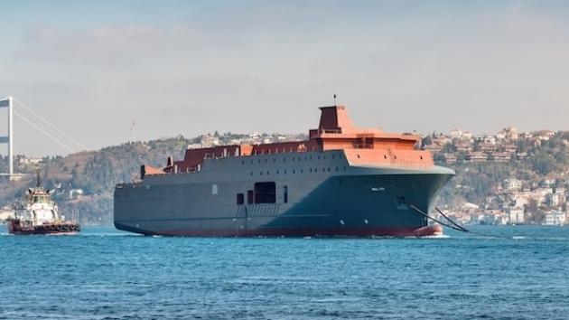 Fotos de un nuevo buque noruego que espiará a Rusia aparecen en Internet