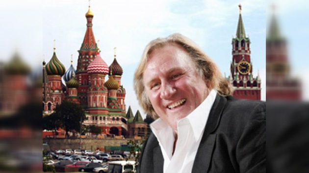 Gérard Depardieu inaugura Festival de Música en San Petersburgo