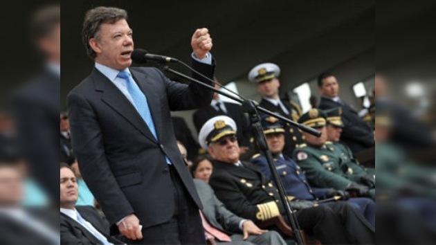Santos anuncia la captura del jefe de las FARC responsable de la muerte de 14 policías