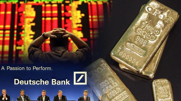 Los grandes bancos llevan el mercado del oro hacia un cambio histórico