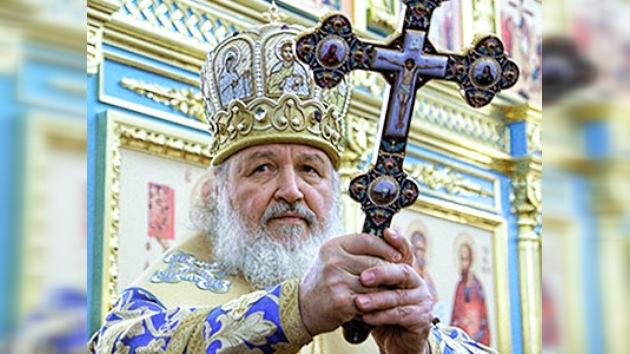 Iglesia ortodoxa celebra aniversario de entronización del patriarca Kiril