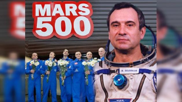 Los 6 'martenautas' superan el récord de vuelo orbital