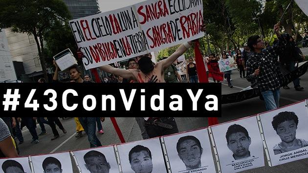 Publican un video para que los 43 estudiantes mexicanos desaparecidos vuelvan con vida