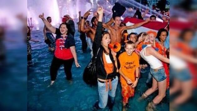 Selección neerlandesa recibe apoyo de musulmanes