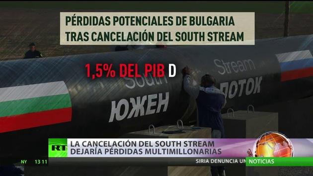 La cancelación del South Stream dejaría pérdidas multimillonarias