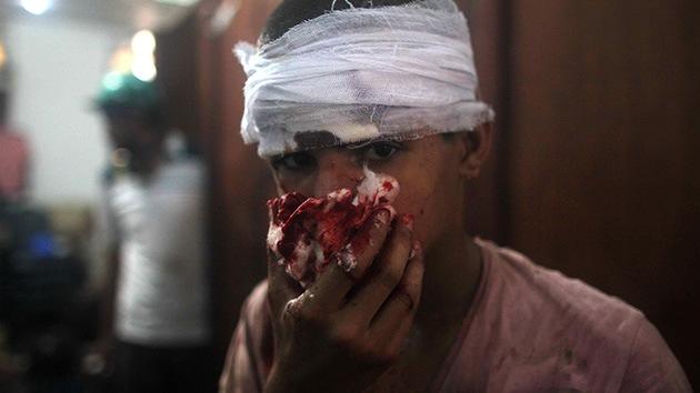 """Colaboradora de RT en los choques de Egipto: """"No vi nunca una batalla tan sangrienta"""""""