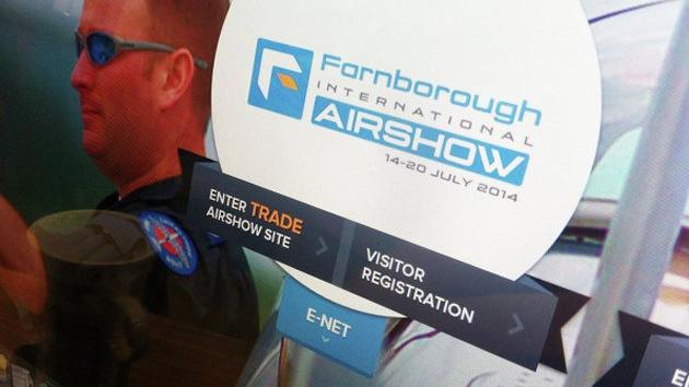 Londres impide la participación de Rusia en el salón de aviación Farnborough