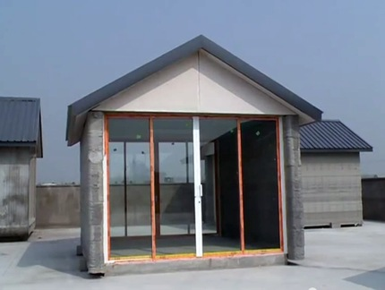 Soy el que soy una empresa china crea 10 casas en un d a for Crea casa 3d