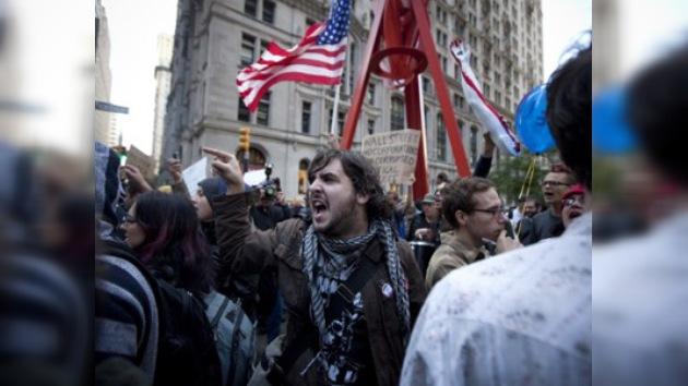 La Policía neoyorquina arresta al menos a 80 'indignados' en Wall Street